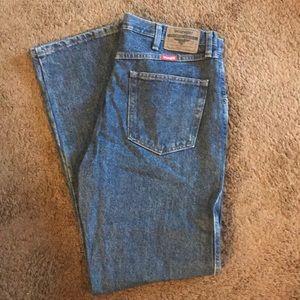 Wranglers jeans size 34 x 32